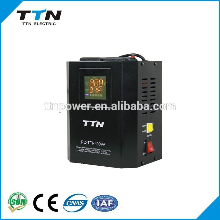 PC-TFR 500VA-2KVA Relay Control Voltage Stabilizer